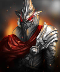 Farron Undead Legion, Abysswatcher by rakuraiArT