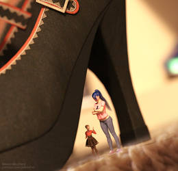 Layne's Heel by JetSlasher