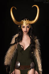My Lady ~  Lady Loki by Neigeamer