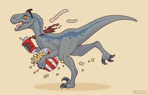 Raptor Runnin by Oomles