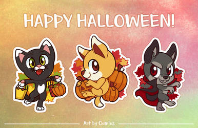 Candy and Carving and Costumes and.... by Oomles