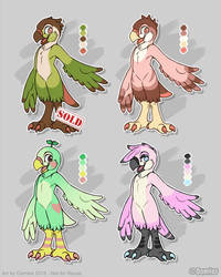 Avian Adopts! by Oomles