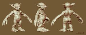 WoW goblin sculpt by haikai13