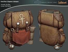 GW 2 Engineer's Backpack by haikai13