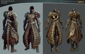 GW 2 Medium 'Orrian' armor set by haikai13