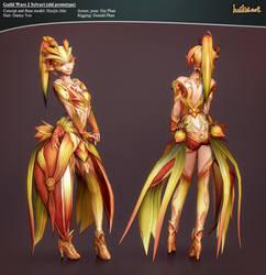 Guild Wars 2 Sylvari Prototype by haikai13