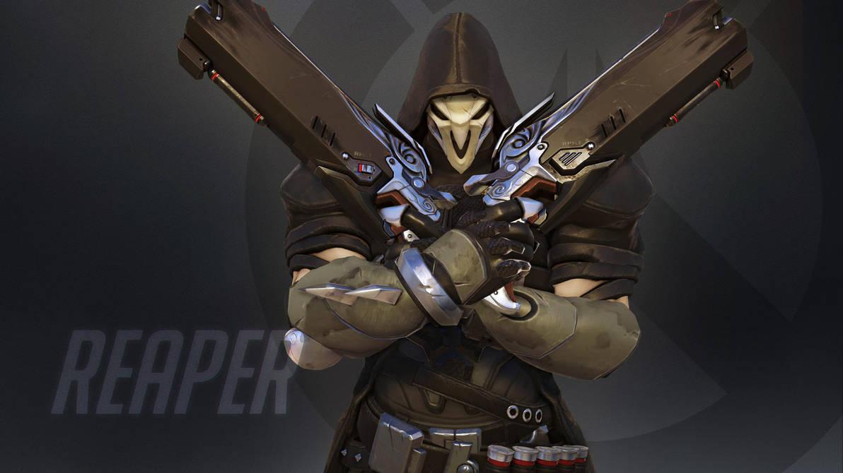 Overwatch Wallpaper: Reaper by haikai13