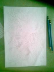 Aztec warrior (unfinished) by Heauton-timorumenos
