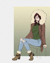 Winter clothes by cretaceo