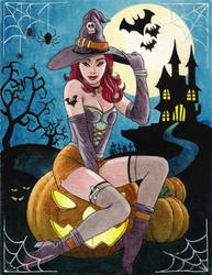Happy Halloween by cretaceo