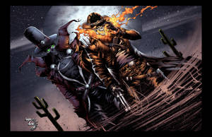 Ghost Rider and Spawn by TimareeZadel