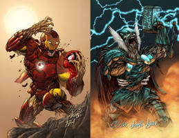 Marvel Zombies by TimareeZadel