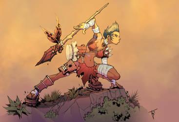 Shaman Hunter by TimareeZadel