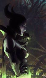 Maleficent by MattDeMino