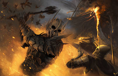 Sauron: War of the Last Alliance by MattDeMino