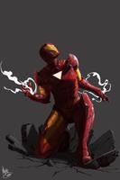 The Invincible Iron Man by MattDeMino