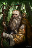 Radagast the Brown - Figures of Middle Earth by MattDeMino