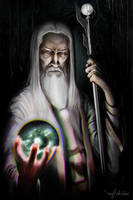 Saruman The White - Figures of Middle Earth by MattDeMino