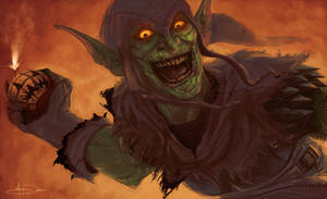 The Green Goblin by MattDeMino