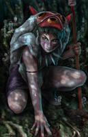 Princess Mononoke by MattDeMino