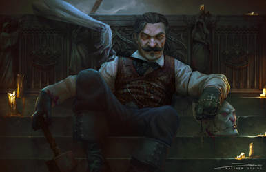 Vampyr Hunter by MattDeMino