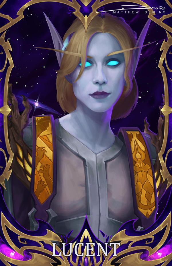 Blizzcon Badge - Lucent by MattDeMino