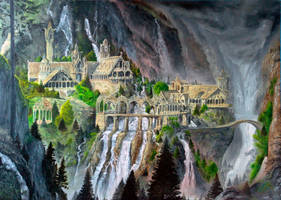Rivendell by Pjik