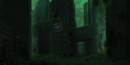 Wreckage Concept - City by Aerozopher