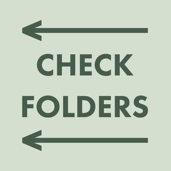 CHECK FOLDERS by Aerozopher