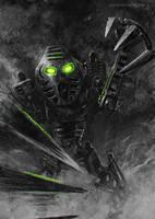 Bionicle Onua by Aerozopher