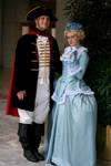 Marie Antoinette and Fersen by DaisyViktoria