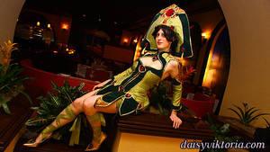 Seth Nightlord Costume by DaisyViktoria