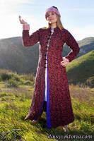 Pink Persian Coat by DaisyViktoria