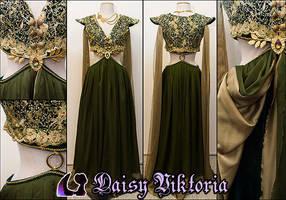 Margaery Tyrell Gown by DaisyViktoria