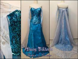 Elsa Gown by DaisyViktoria
