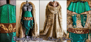 Lady Loki Costume by DaisyViktoria