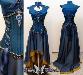 Daenerys inspired corset gown by DaisyViktoria