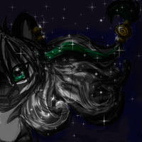 Sun and stars by velvetrwings