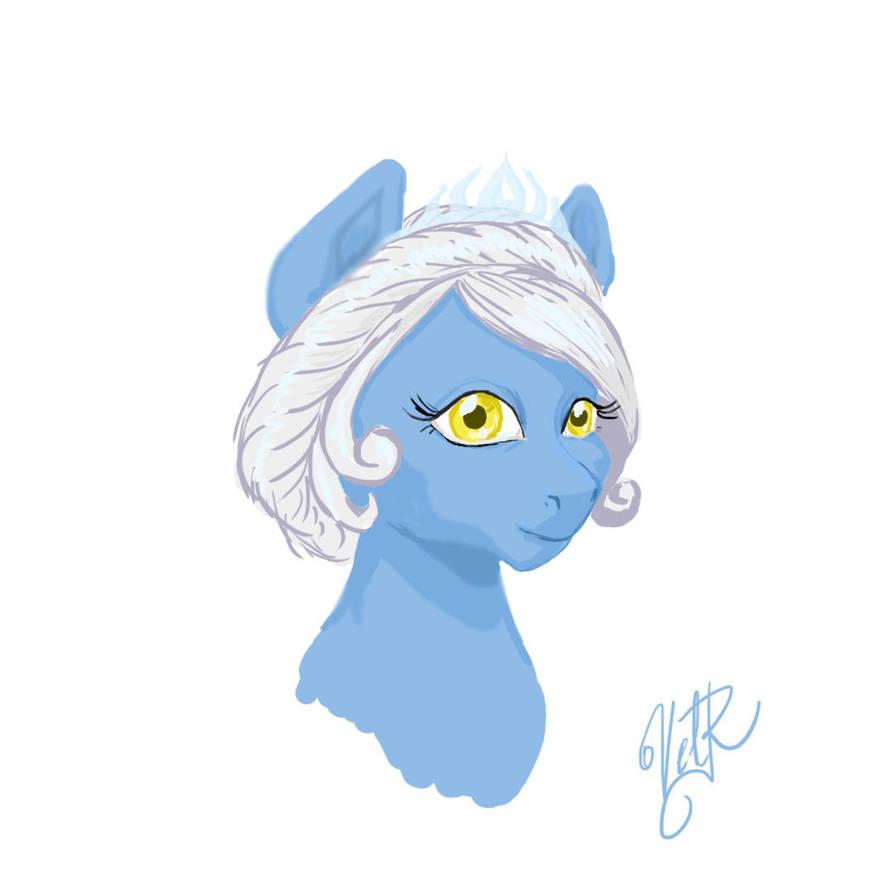 Snow queen by velvetrwings
