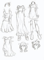 Lucy clothes 1 by electricjesuscorpse