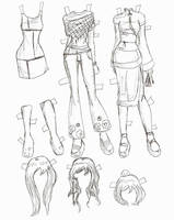 Lucy clothes 2 by electricjesuscorpse