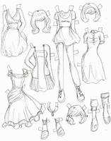 Lucy clothes 5 by electricjesuscorpse
