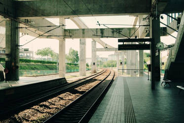 train home by eiChi17