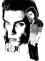Nick Cave by PiOrtiz