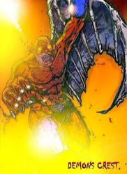 Demon's crest by teoiron
