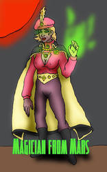 Magician From Mars by cu-morrigan