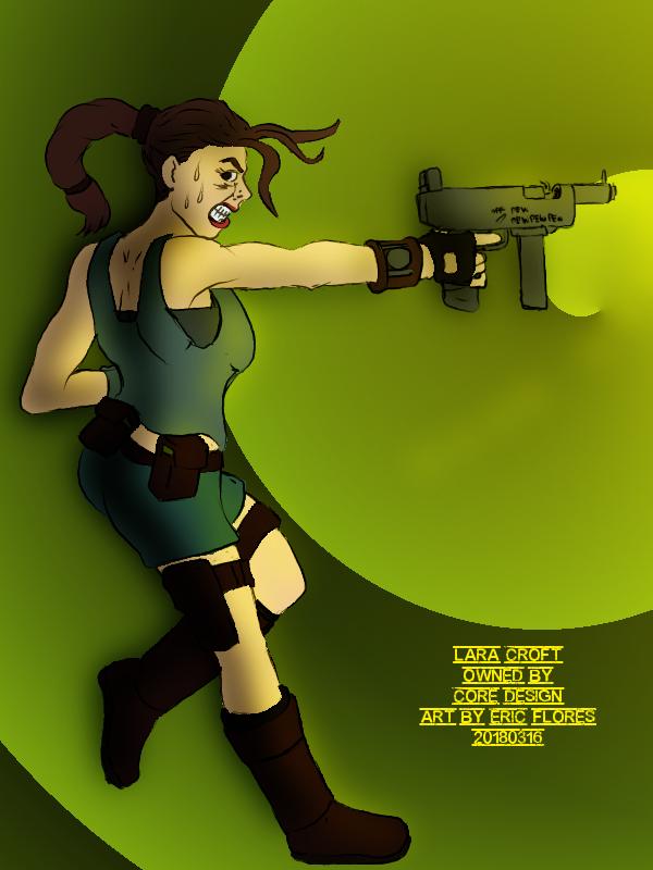 Lara Croft by cu-morrigan