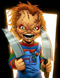 Chucky Colored by MJValle