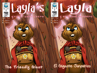 Layla's Grand Adventure Cover by MJValle