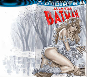 Poison Ivy blank cover by mrno74